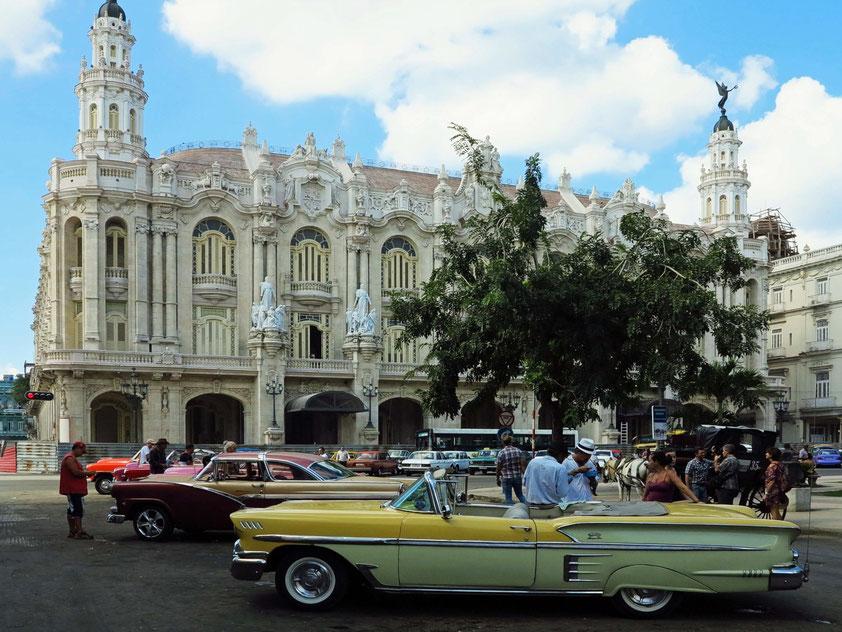 Gran Teatro de la Habana und Parque Central