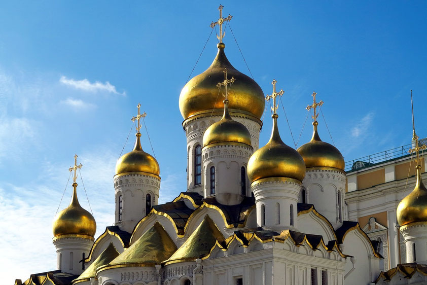 Kuppeln der Mariä-Verkündigungs-Kathedrale (Ende 15. Jahrhundert)