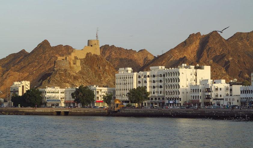 Promenade und Festung Matrah