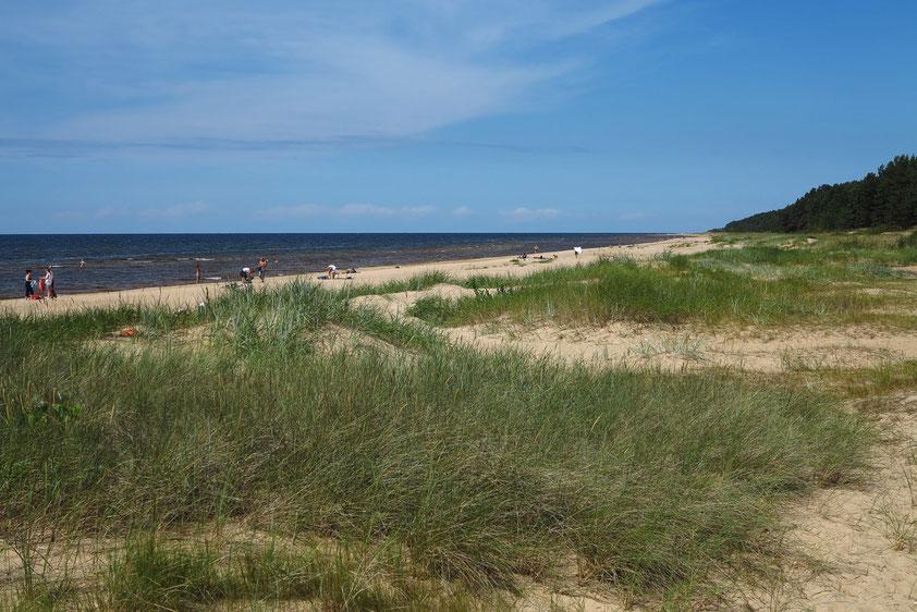 Strand von Jurmala bei Riga