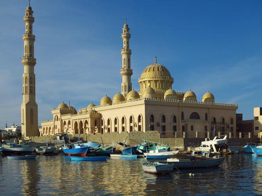 Die neue Moschee von Hurghada