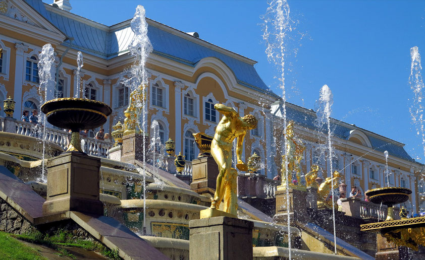 Sankt Petersburg. Petrodworjez (Peterhof), Große Kaskade
