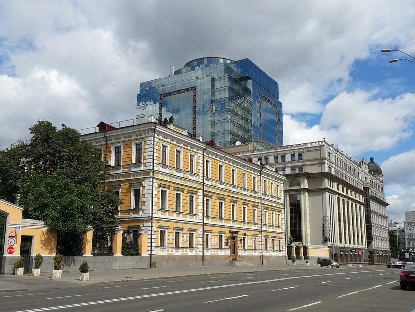 Volodymyrska Street, Blick nach NNE