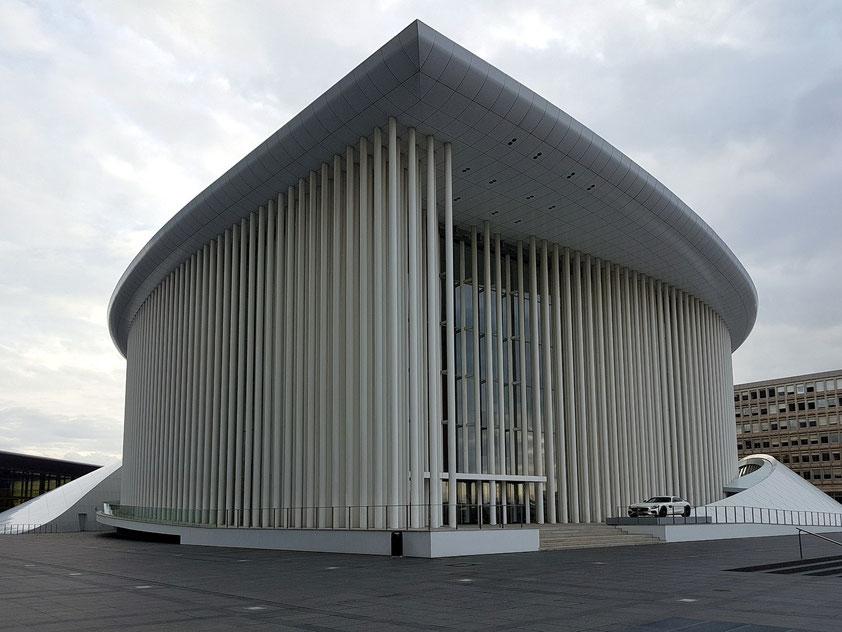 Philharmonie Luxemburg, Residenzort des Philharmonischen Orchesters von Luxemburg