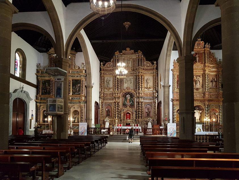 Iglesia de Nuestra Señora de la Peña de Francia, im 17. Jahrhundert errichtete Hauptkirche von Puerto de la Cruz