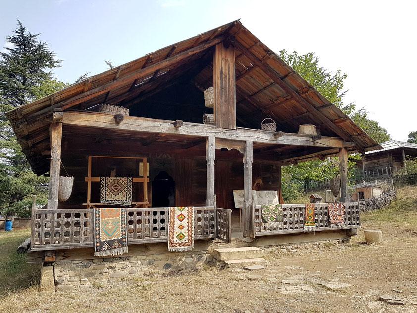 Westgeorgisches Wohnhaus aus dem 19. Jahrhundert, Ontopho, Abasha District