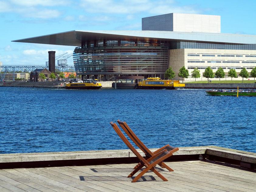 Königliches Opernhaus in Kopenhagen, eröffnet 2005 (Architekt: Henning Larsen)