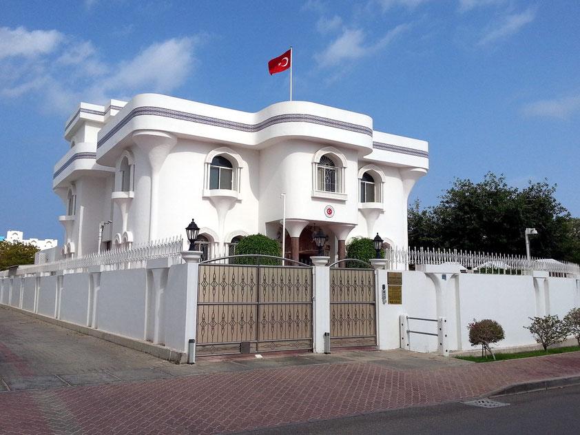 Türkische Botschaft in Maskat