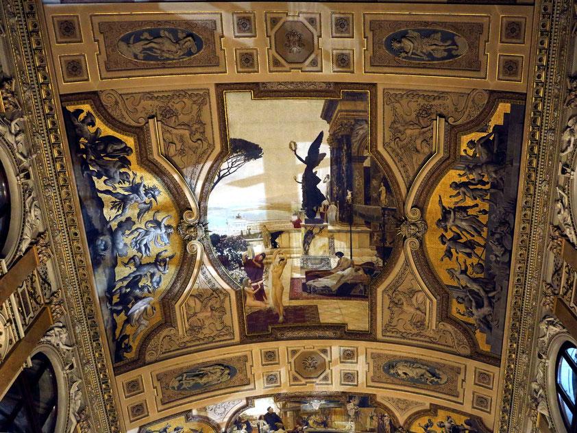 Gustav Klimt: Das Theater von Taormina (Deckenbild im Wiener Burgtheater, 1886–1888)