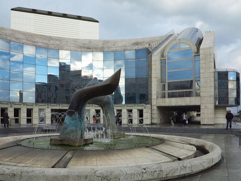 Neues Slowakisches Nationaltheater Bratislava, 2007 eröffnet