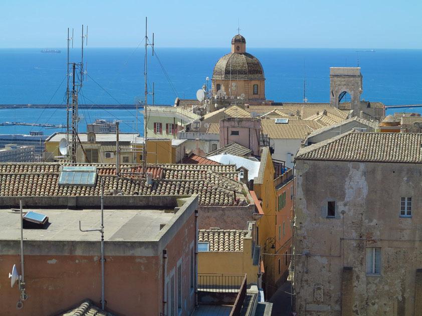 Blick vom Torre di San Pacrazio nach Süden zur Kathedrale