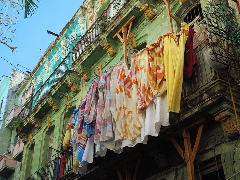 Häuserfassade in Alt-Havanna