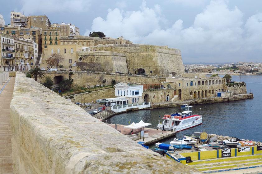 Valletta. Bereich der Sliema Ferry