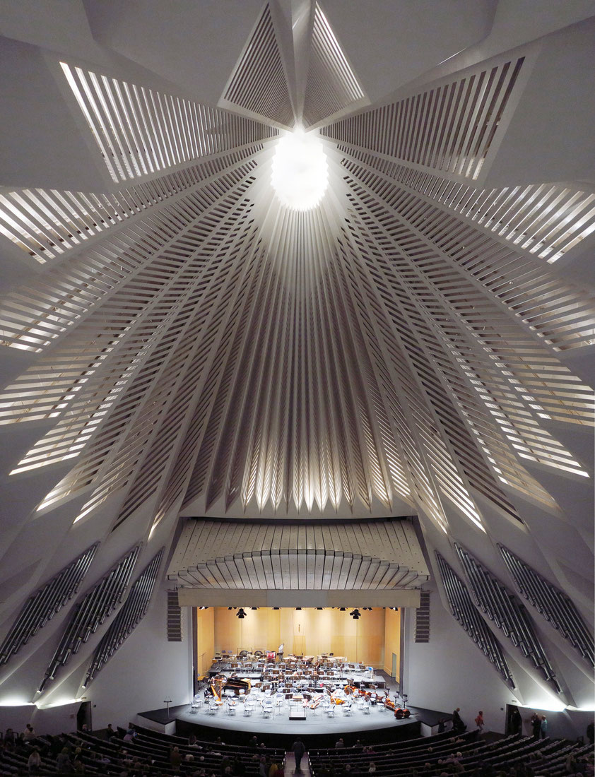 Auditorio de Tenerife, Großer Saal, (Architekt: Santiago Calatrava)