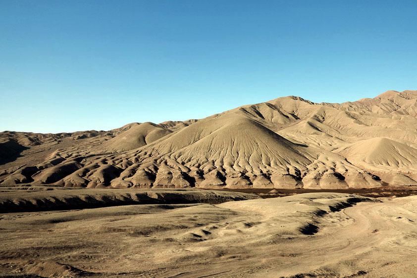 Badlands südlich von Antofagasta