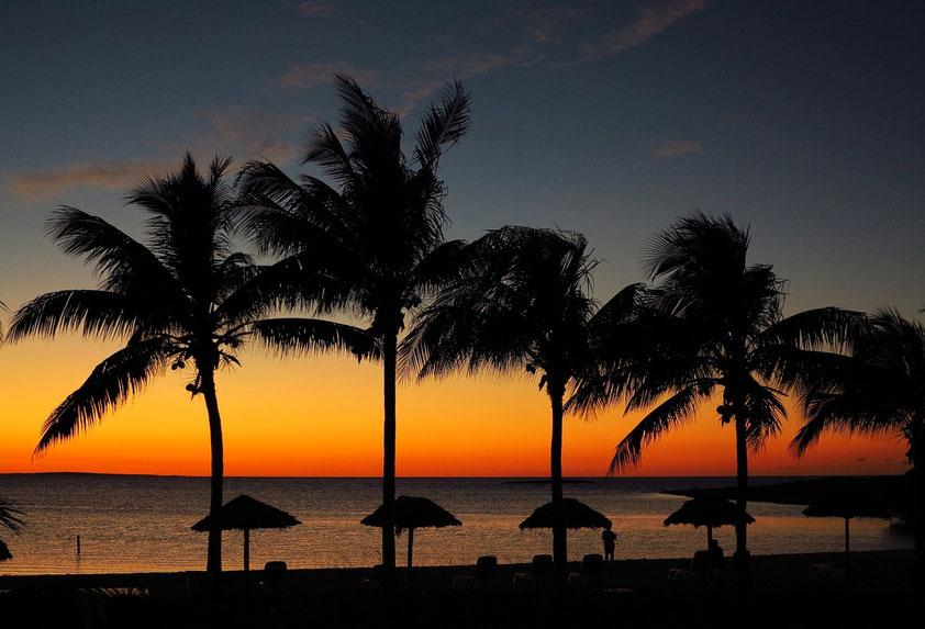 Hotel Meliá Buenavista, Playa del Ocaso nach Sonnenuntergang