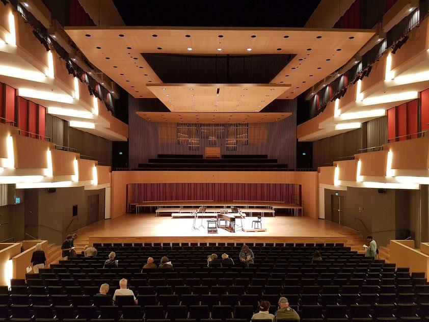 Konzertsaal des Musikhuset Aarhus
