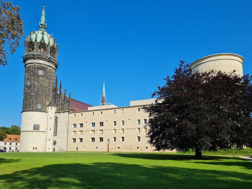 Lutherstadt Wittenberg, Schloss mit Schlosskirche