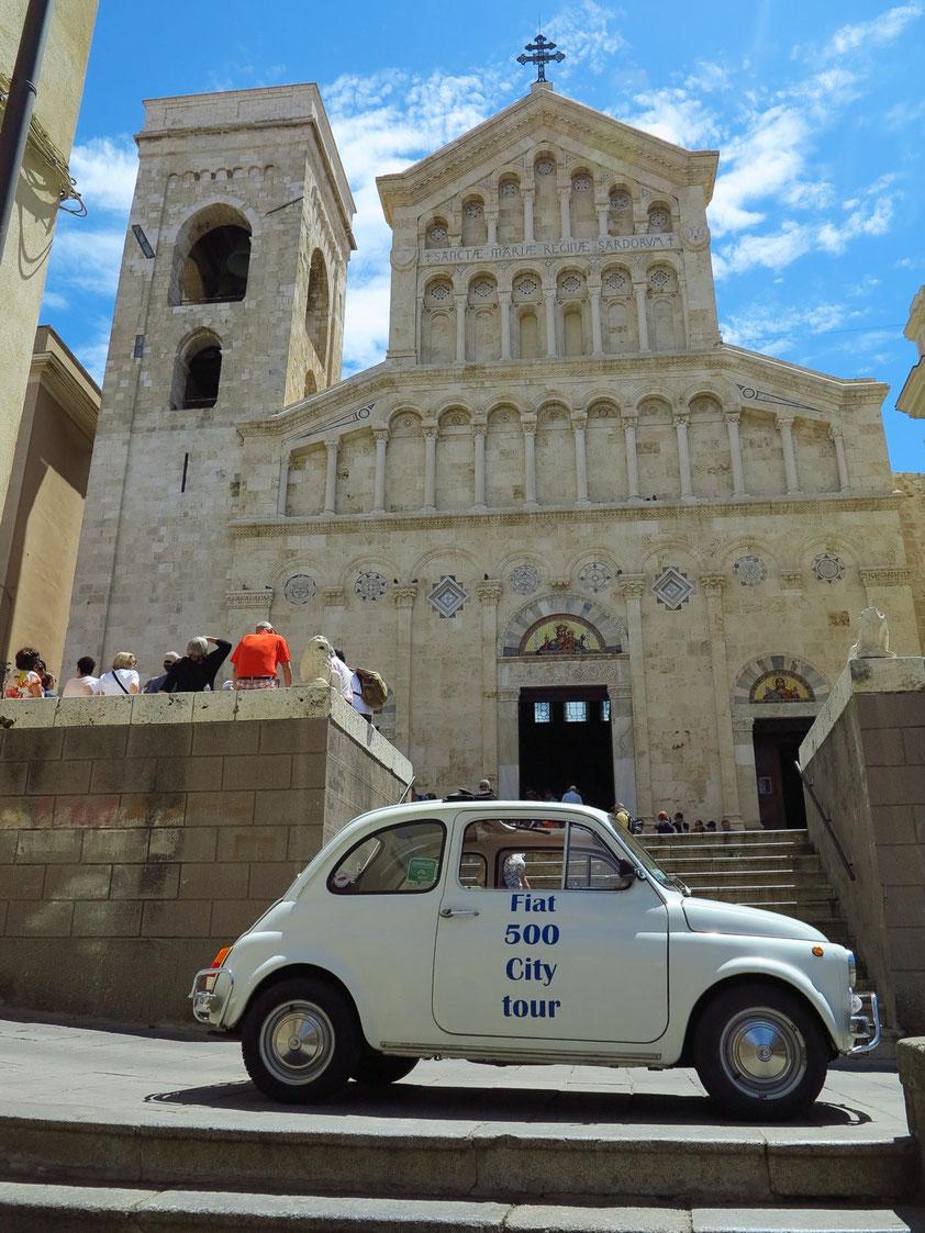 Der Dom zu Cagliari, die Kathedrale Santa Maria di Castello