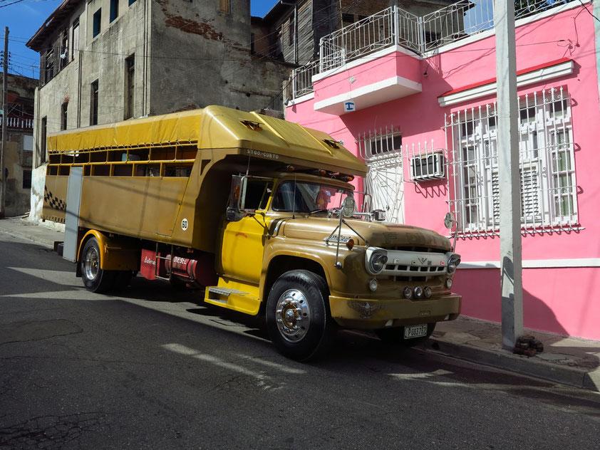 Camión, ein umgebauter Oldtimer-Truck