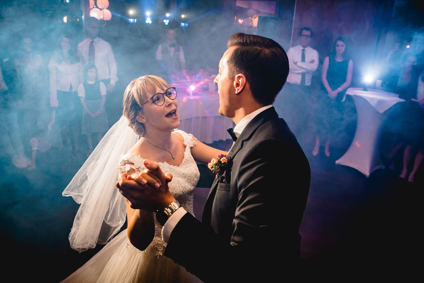 Brautpaar beim Hochzeitstanz in München