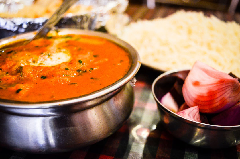 Indisches Essen, Paneer Butter Masala