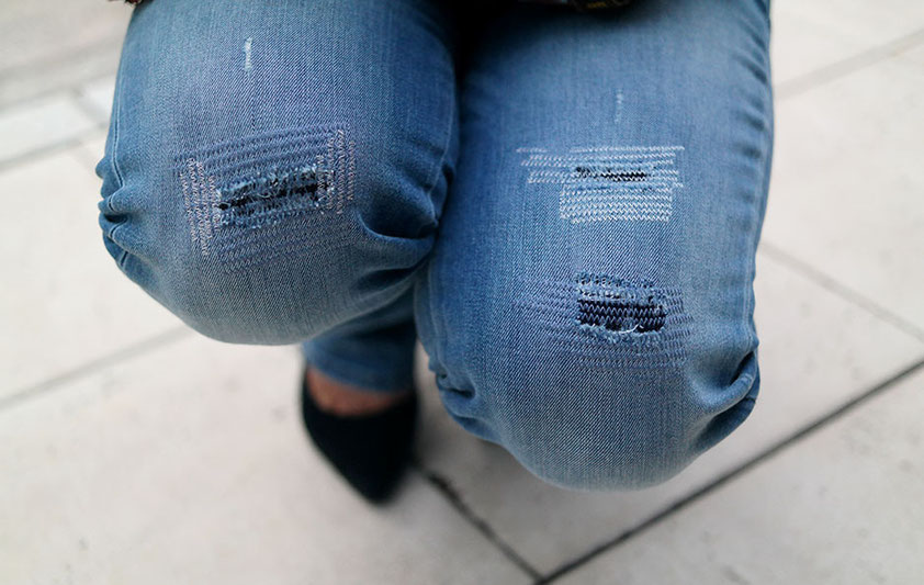 Outfit Gipsy Days Guess Ultra Boot Low Bootcut Jeans