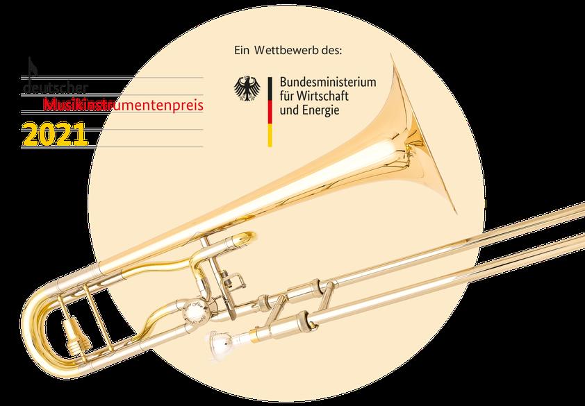 Gewinner-Posaune Karl Scherzer open flow