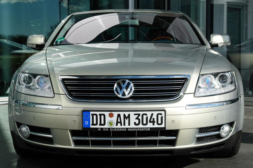 VW Phaeton. Gläserne Manufaktur (12.3.2008)