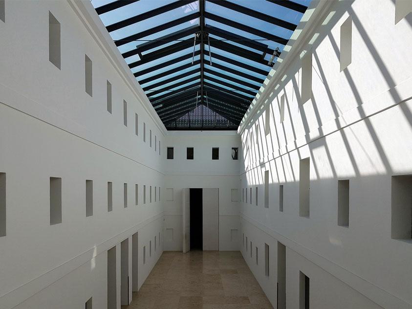 Greifswald, Lichthof des Pommerschen Landesmuseums