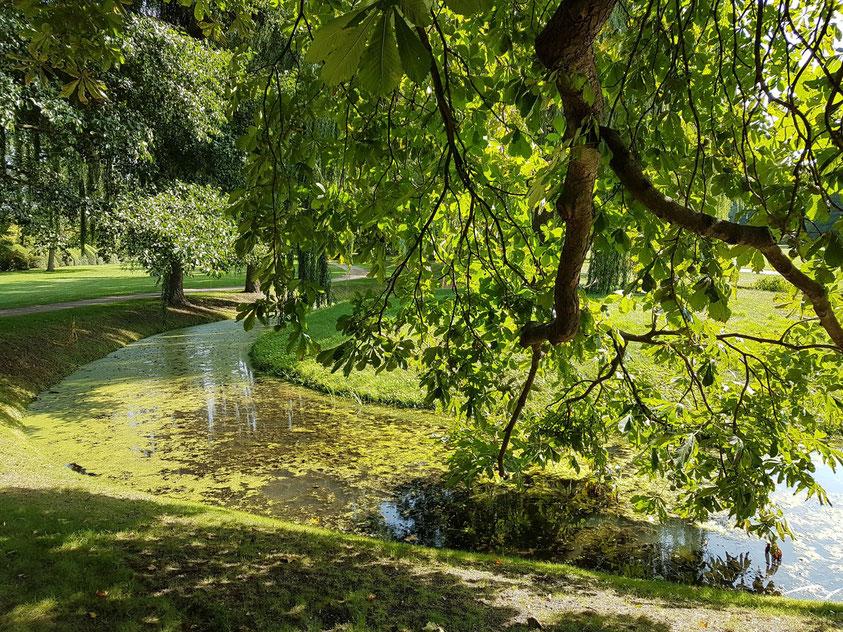 Im Park von Schloss Neuhardenberg