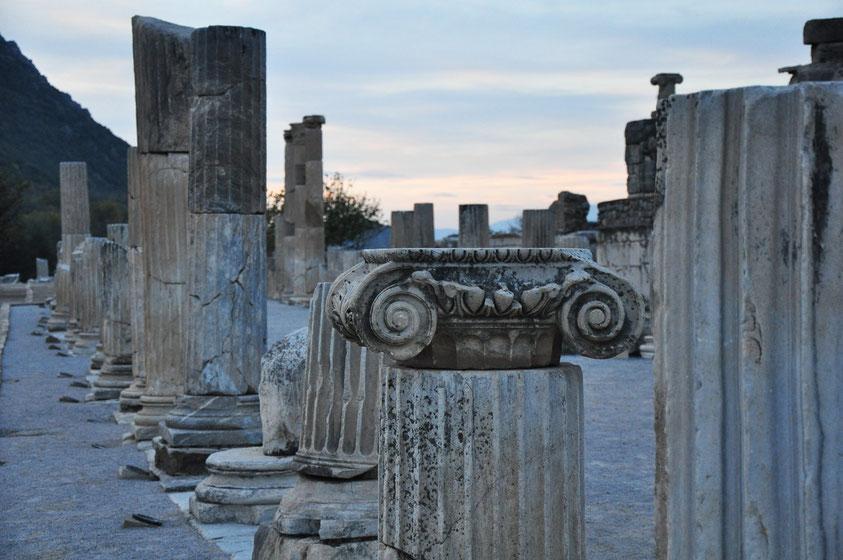 Abendstimmung in Ephesos