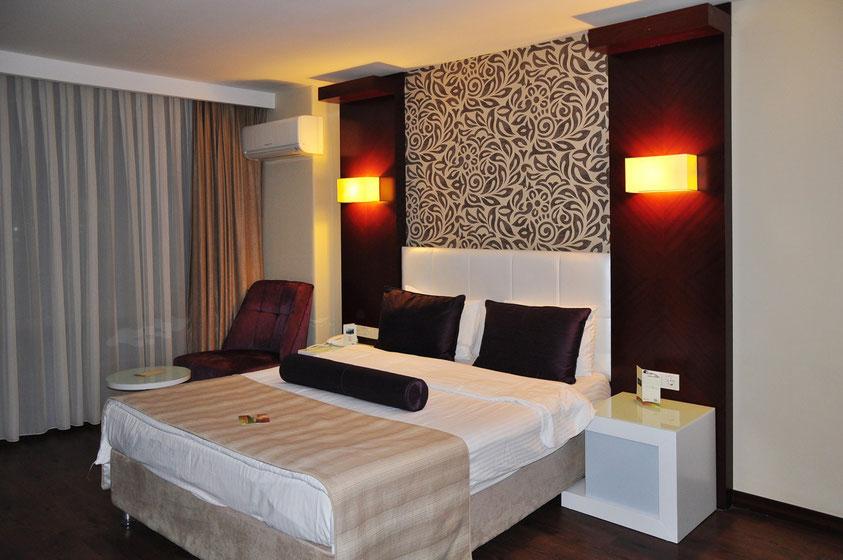 Mein Zimmer im Tusan Beach Resort Kuşadasi