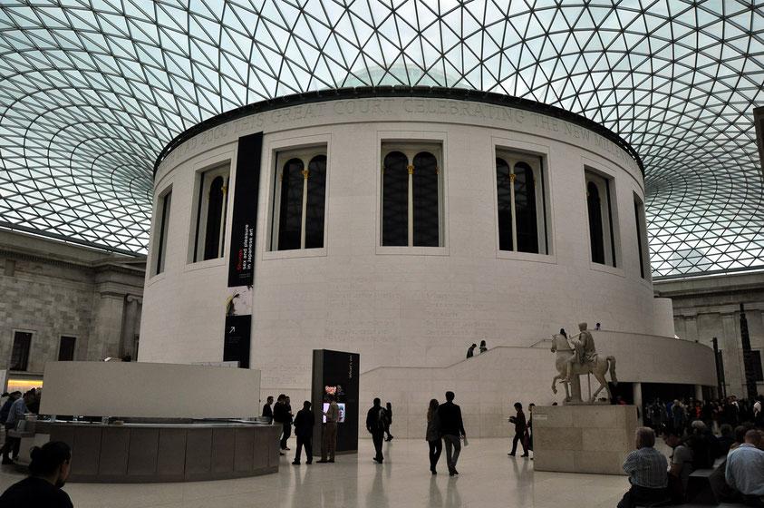 Kuppeldach des British Museum (2013)