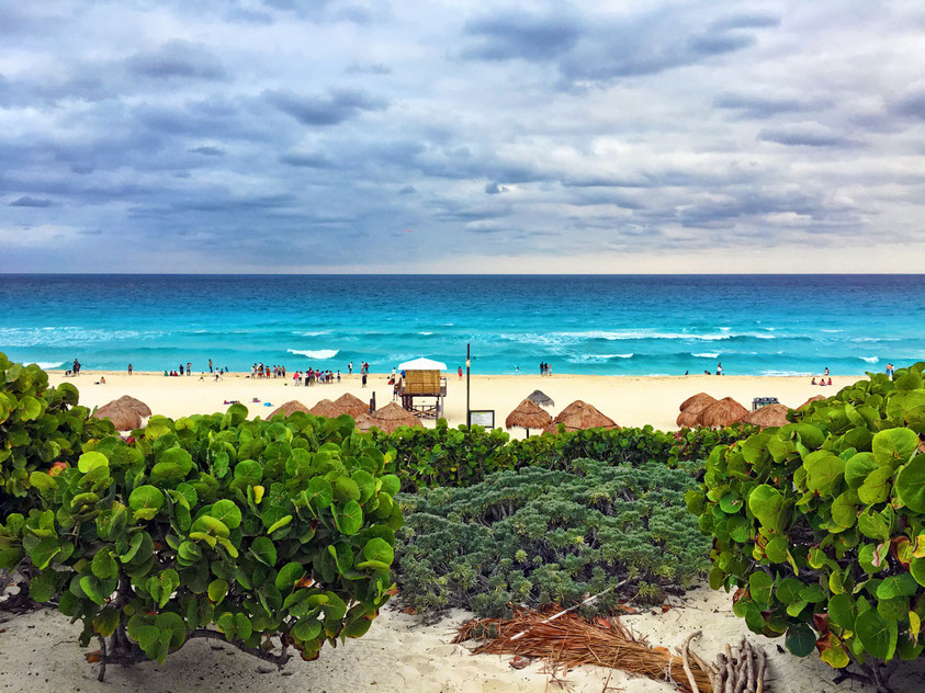 Playa Delfines in Cancun, Mexiko. Paradies pur!