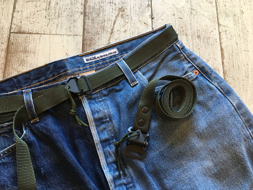UK ARMY SAS BELT ¥4,500(+TAX)