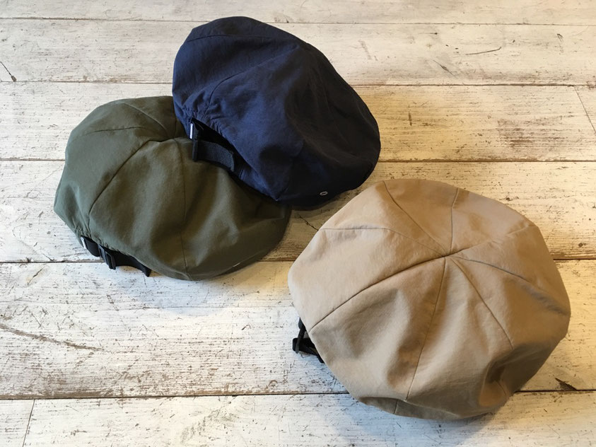 halo commodity(ハロ コモディティ) Gaur beret 各¥4,212(税込)