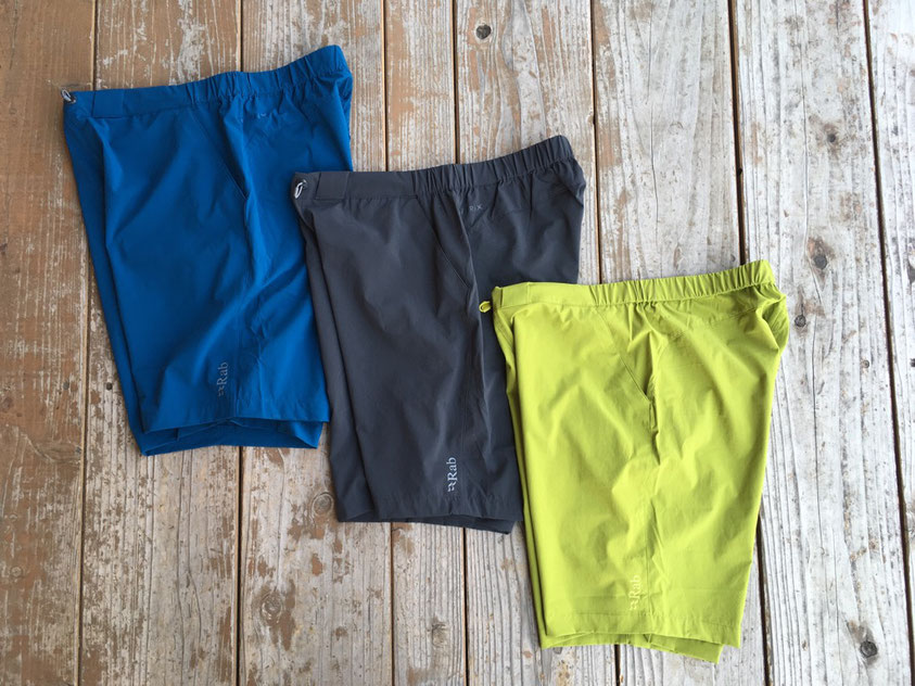 Rab(ラブ) Momentum Shorts 各¥8,000(+TAX)