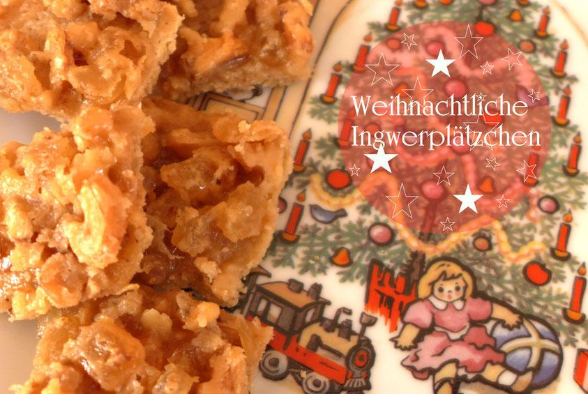 Rezepte – Weihnachtliche Ingwerplätzchen – DIY-Projekt