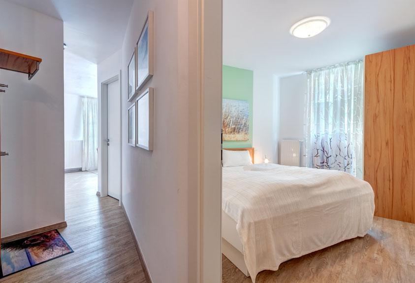 Residenz am Balmer See, Haus B mit Appartement 45, Ferienwohnung GolfundMeer, Flur,  Photo © Tomasz Zając