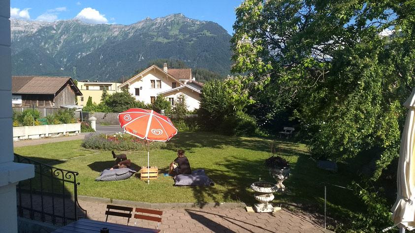 Interlaken adventure hostel gem of a garden