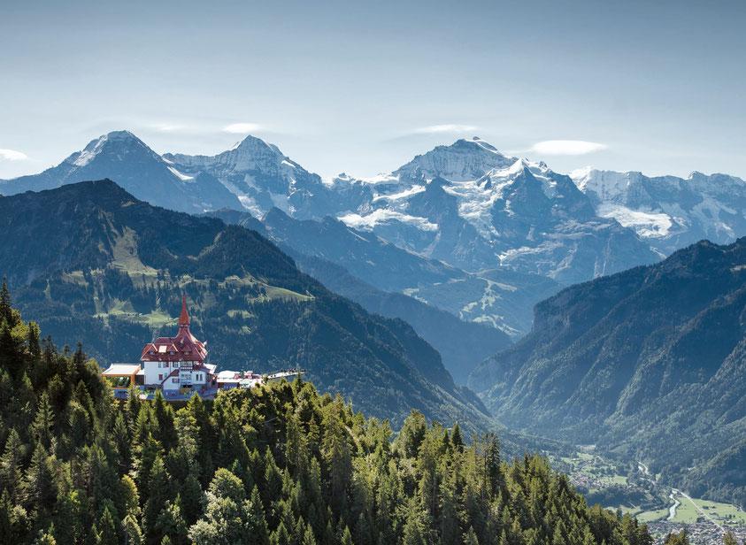 Harder Kulm Top of Interlaken things to do