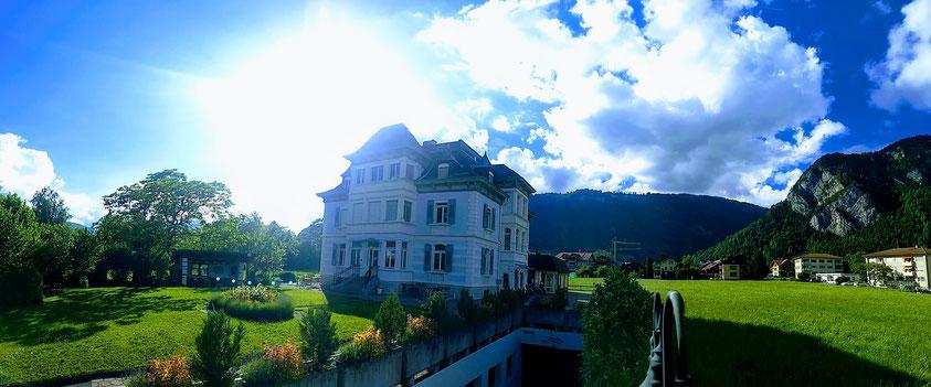Adventure hostel Interlaken visual tour mountains