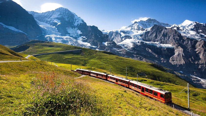 Jungfraujoch railway to the Top of Europe