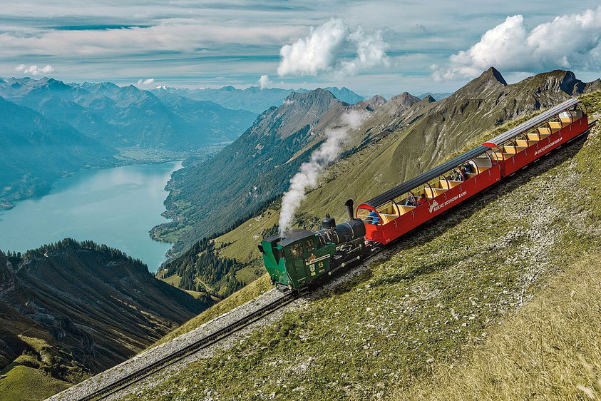Things to do Interlaken brienzer rothorn steam train