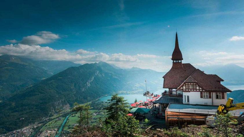 Harder Kulm views Top of Interlaken