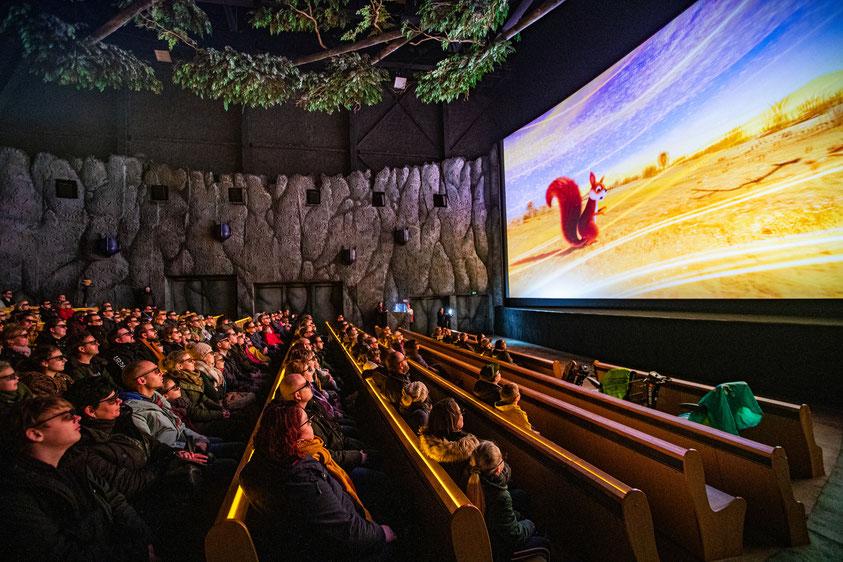Efteling Fabula 4D Abenteuer neues 4D Kino Theater