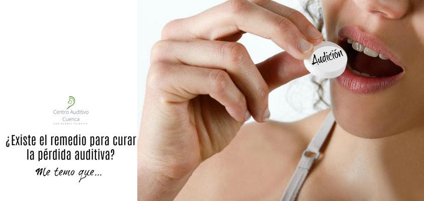 ¿Existe el remedio 'milagroso' para curar la pérdida auditiva? Nos tememos que no. Pero unos audífonos bien adaptados restaurarán su audición.
