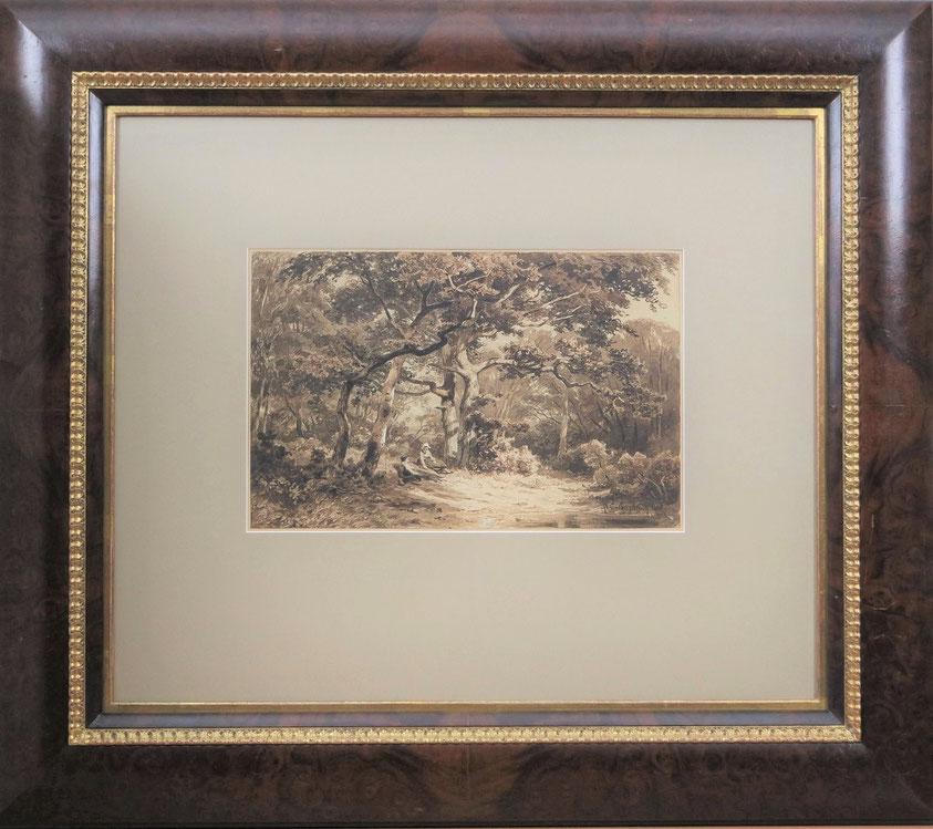 te_koop_aangeboden_een_originele_inkttekening_van_de_nederlandse_kunstenaar_jan_willem_van_borselen_1825-1892_haagse_school
