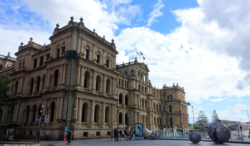 Treasury Casino and Hotel, Brisbane, photo non libre de droits